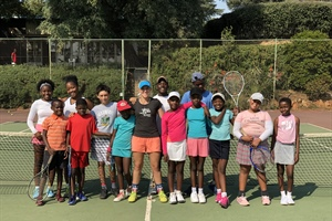 VOSLOORUS KIDS HAVE EXTRA TRAINING