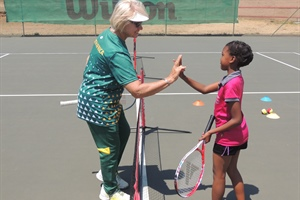 CLINIC HELD FOR TOWNSHIP CHILDREN DURING JUNIOR CHALLENGE